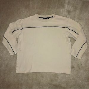 Boys Tan Long Sleeve Shirt Size: Large